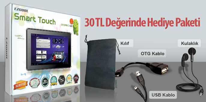 Ezcool Smart Touch_hediye paketi