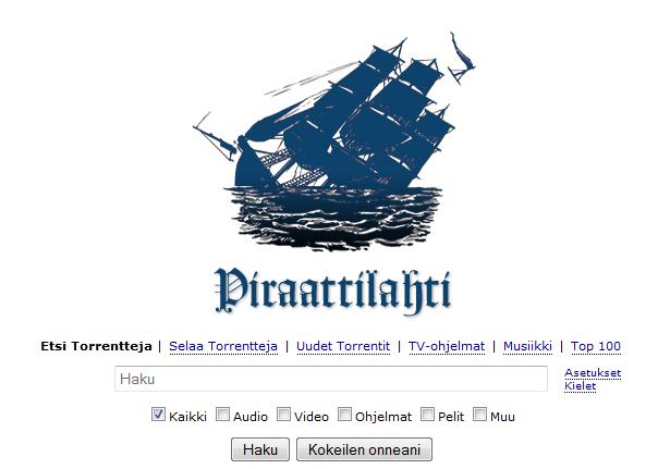 Pirate Bay, korsan karşıtı siteyi dava ediyor