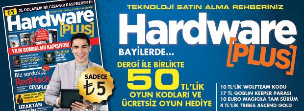 Hardware Plus Mayıs 2013 sayısı bayilerde