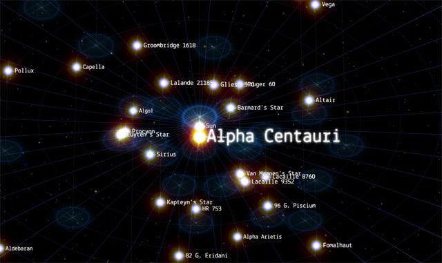 Samanyolu'nun 100 bin yıldızlık haritası