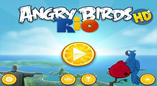 Angry Birds Rio, Windows Phone için yayınlandı