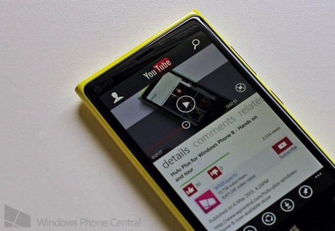 Google ve Microsoft, Windows Phone'un Youtube uygulaması için anlaştılar