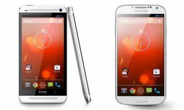 HTC One ve Galaxy S4'ün Google versiyonları satışa sunuldu