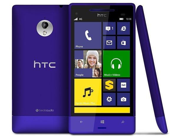 HTC'den yeni WP8'li telefon: HTC 8XT