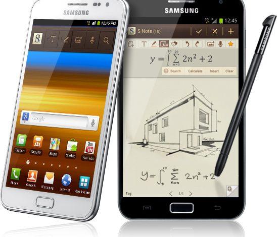 Samsung Galaxy Note 3 göründü