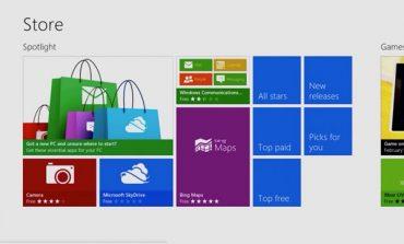 Windows 8, 100 bin uygulama sayısına ulaştı