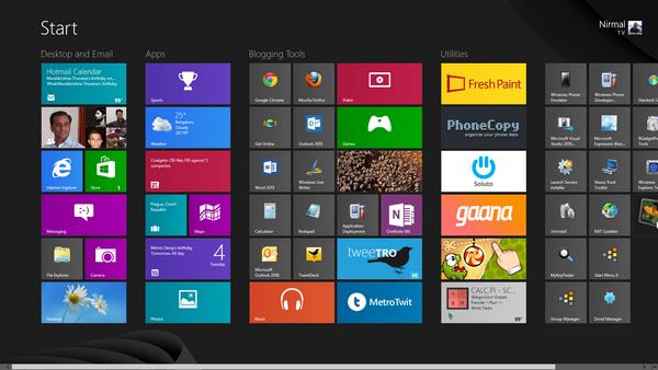 Windows 8'in yükseliş hızı, XP'nin düşüş hızından düşük