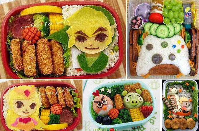 Foto Galeri: Oyun tutkunları bu yemekleri yemeye kıyamaz