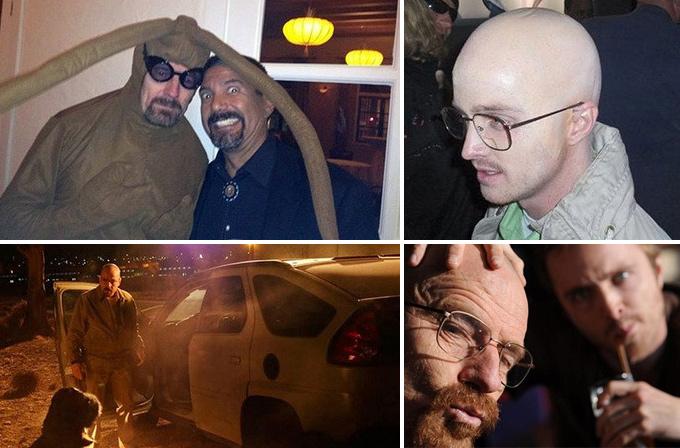 Foto Galeri: Breaking Bad'in sahne arkasından ilginç görüntüler
