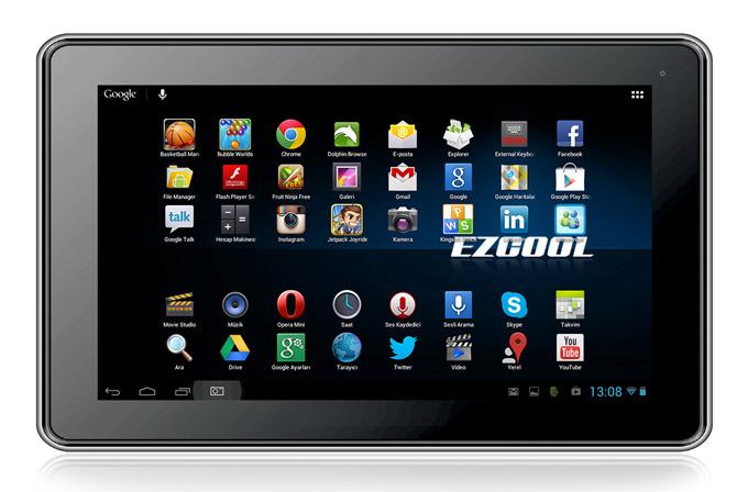 Ezcool'dan öğrencilere uygun 9 inç tablet