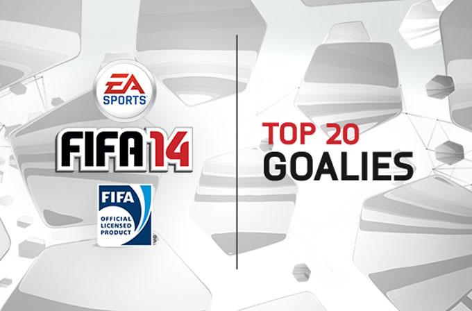 FIFA 14'ün en iyi 20 kalecisi belli oldu