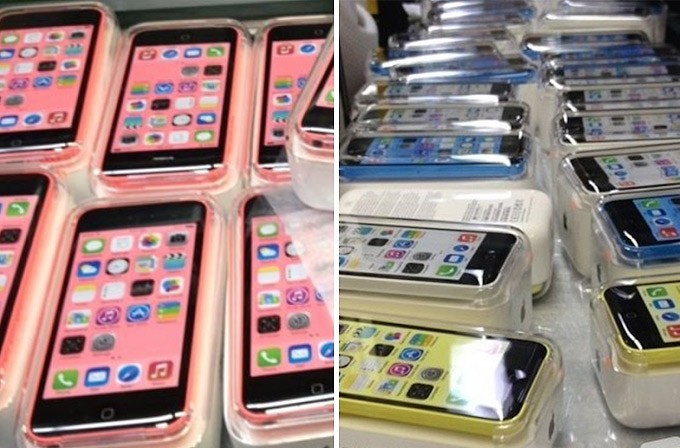 iPhone 5C'nin yeni fotoğrafları sızdırıldı