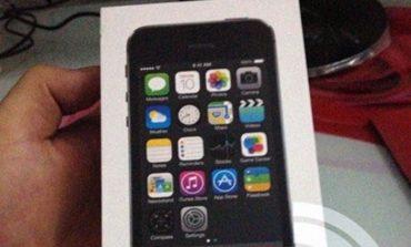 iPhone 5S'in kutusu sızdırıldı