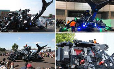 Bu robot, bir Japon tarafından 11 yılda üretildi