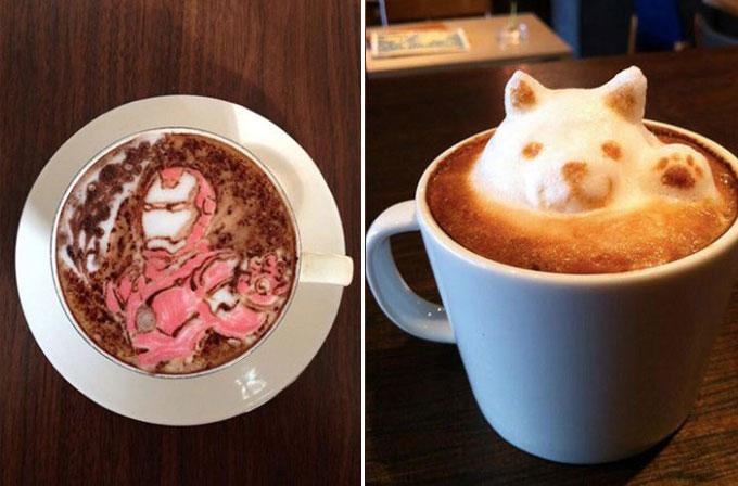 Foto Galeri: Japon barista Mattsun'dan kahve sanatı