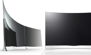 Avrupa'nın ilk kavisli OLED TV'si LG'den geldi