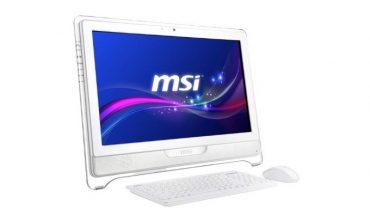 Dünyanın ilk Windows 8.1 sertifikalı All-in-One PC'leri MSI'dan