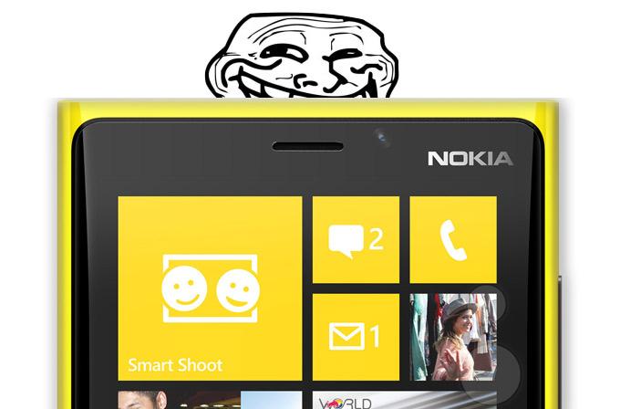 Nokia bu kez de Sony ile dalga geçti