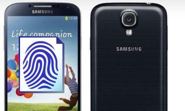 Galaxy Note 3'te parmak izi sensörü olacak!