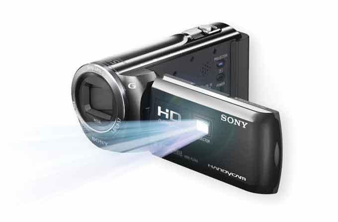 Sony HDR PJ380E