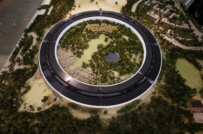 Apple'ın yeni kampüsü müthiş olacak