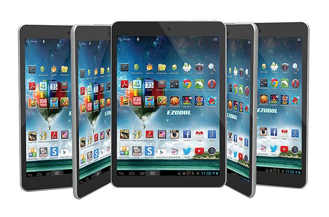 Ezcool'dan incecik ve güçlü bir Android tablet: miniPAD