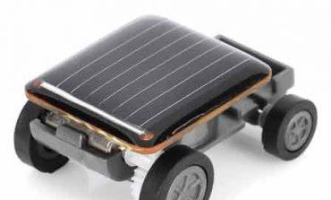 Dünyanın en küçük güneş enerjili arabası