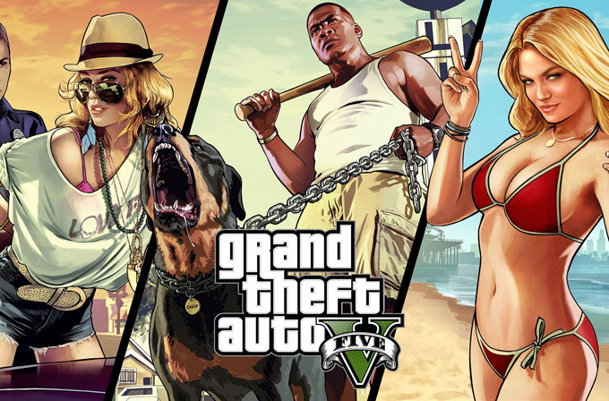 GTA V PC, PS4, Xbox one