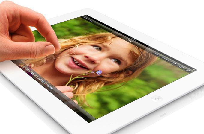 iPad'in dokunuş algılama hızı Android tabletlere fark atıyor