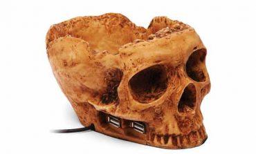 Kafatası şekilli USB çoklayıcı