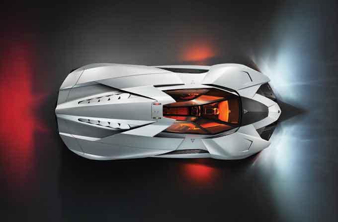 Dünyada tek Lamborghini Egoista