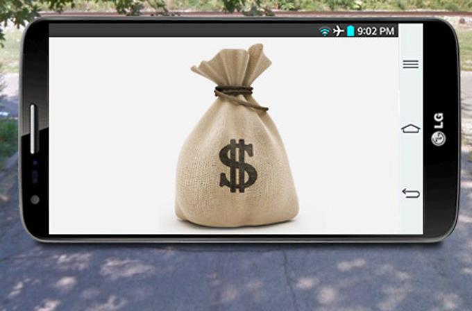14 milyon dolar değerinde LG G2 çalındı!