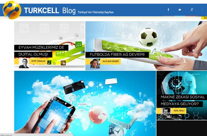 Turkcell Blog yayına girdi