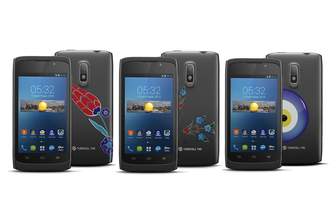 İlk yerli tasarım akıllı telefon Turkcell T40, yarın piyasada