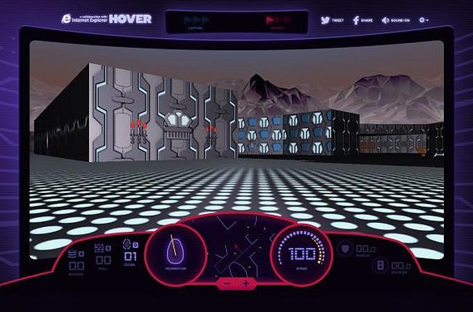 Windows 95'in efsane oyunu 'Hover' artık tarayıcılarda