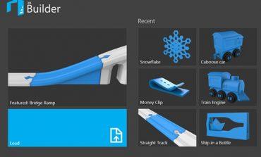 """Microsoft, Windows 8.1 için ücretsiz """"3D yazıcı uygulaması"""" yayımladı"""