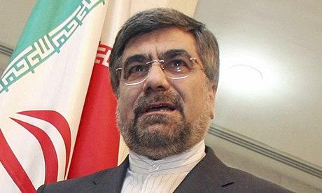 İran Kültür Bakanı Ali Jannati