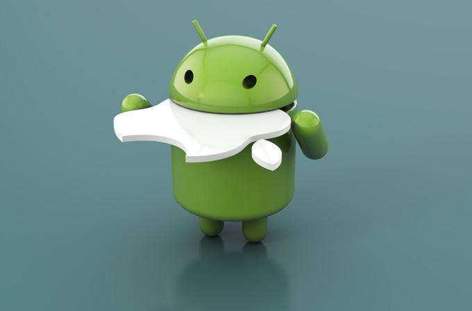 Android telefonlar piyasayı işgal etti