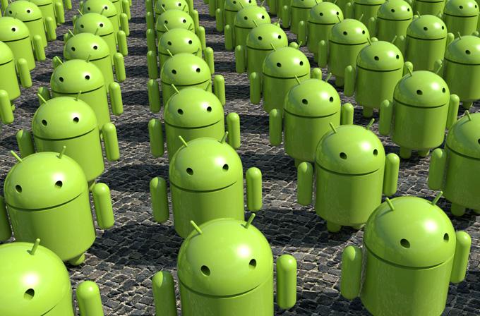 Android dünyayı ele geçiriyor