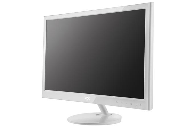 AOC'den beyaz tasarımlı 24 inç LED monitör: e2451Fh