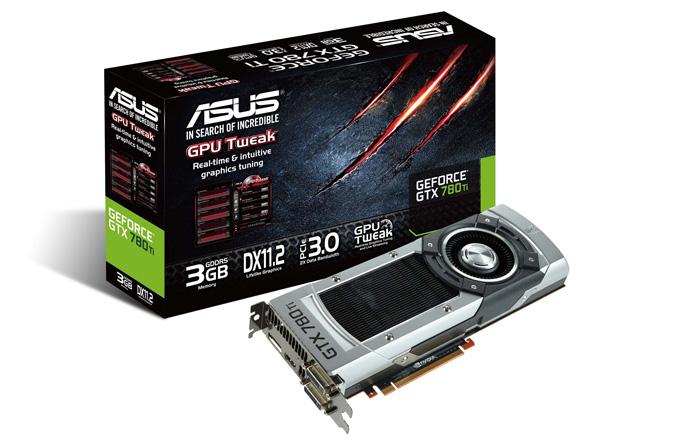 ASUS, GeForce GTX 780 Ti ekran kartını tanıttı