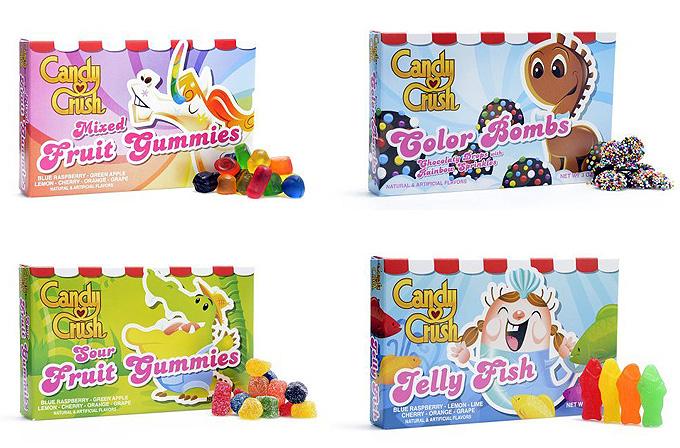 Candy Crush Saga şekerleri satışa çıktı