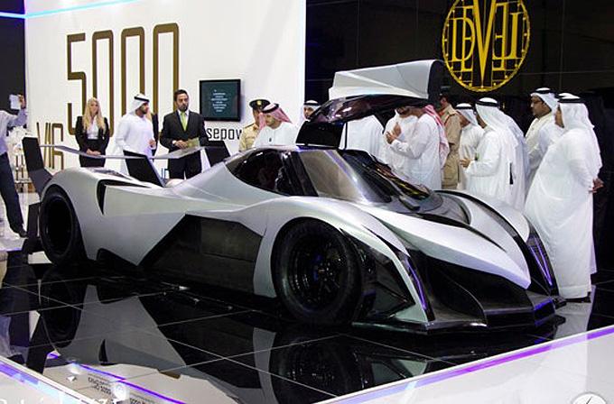 5000HP'lik otomobil Devel Sixteen
