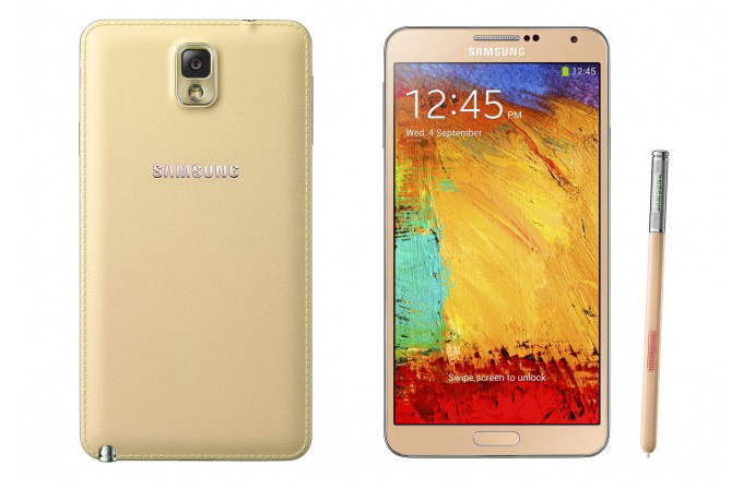 Galaxy Note 3'e yeni renkler geliyor