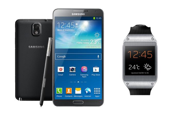 Galaxy Note 3 ve Galaxy Gear ile neler yapılabilir?