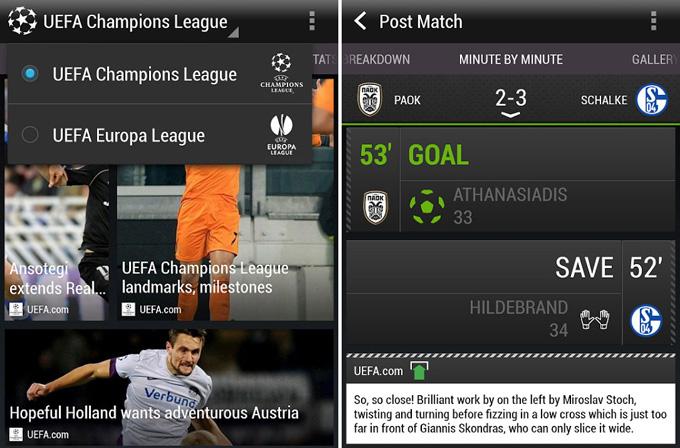 Real Madrid – Galatasaray maçını HTC FootballFeed ile takip edebilirsiniz