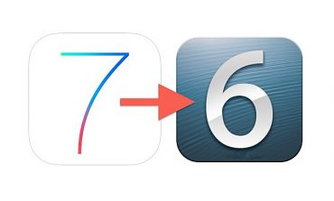 iOS 7'den iOS 6'ya downgrade mümkün mü?