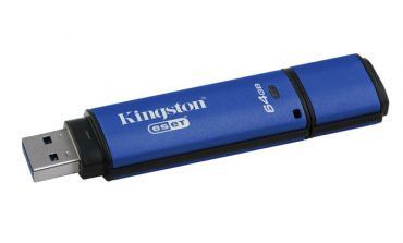 256-Bit kriptolu ilk USB 3.0 bellek Kingston'da
