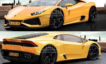 Lamborghini'nin yeni canavarı Cabrera görüntülendi