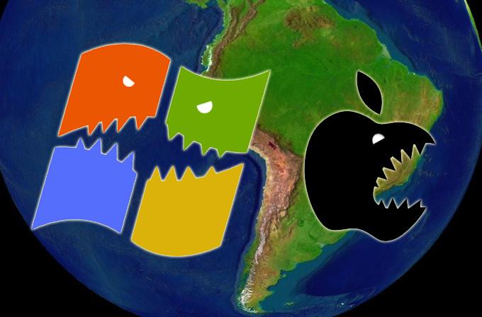 Windows Phone Latin Amerika'da iOS'u geçti